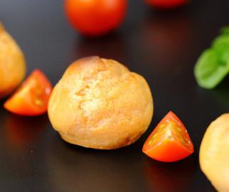 mini choux pour apéritif - escargots