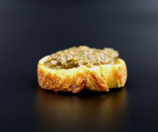 toast avec terrine d'escargot