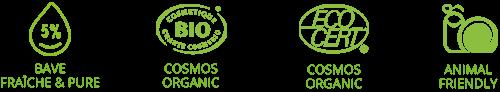 savon bio certifié cosmebio et ecocert